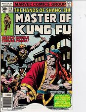 Master Of Kung Fu #54 NM- 9.2 1977 Marvel See My Store