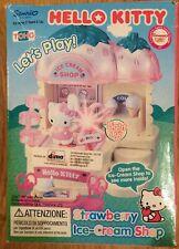 Boxed Hello Kitty Strawberry Ice Cream Shop