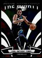 2018-19 PANINI CERTIFIED THE MIGHTY KARL-ANTHONY TOWNS MINNESOTA TIMBERWOLVES
