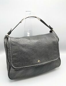 Mulberry Large Evelina Bag in Black Spongy Pebbled Leather