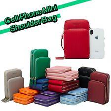 Womens Fashion Cell Phone Mini Shoulder Bag Handbag Card Holder Crossbody Purse
