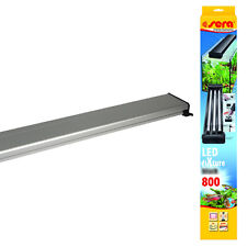 SERA LED FIXTURE SILVER 800 PLAFONIERA PER INSERIMENTO TUBI A LED SERA 80 CM