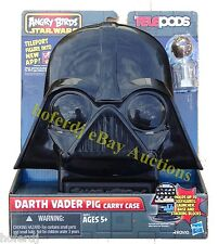 Star Wars Angry Birds Telepods Darth Vader Pig Carry Case with Chewbacca *NEW