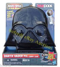 Angry Birds Star Wars Telepods Darth Vader Pig Carry Case Holds 30 Figures *NEW