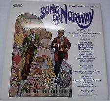 "SONG OF NORWAY SOUNDTRACK ALBUM Vinyl LP 12"" 33rpm Excellent"