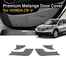 Car Door Felt Gray Scratch Anti Kick Cover Protector For HONDA 2009-2011 CR-V