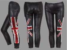 Union Jack Britain England London Flag Leggings schwarz Gr. XS Neu