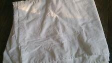 Twin bedskirt dust ruffle white
