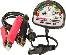 Tecmate Optimate 12V motorcycle atv battery charger & tester TS 121 harley honda