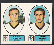 PANINI CALCIATORI CALCIO 1977-78 Adesivo, nessun 412, Cesena-Doriano Pozzato