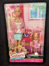2014 NEW Barbie Sisters Fun Day Mattel