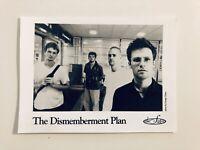 THE DISMEMBERMENT PLAN Original Publicity Photo 1990s 5x8 Promo DeSoto Records