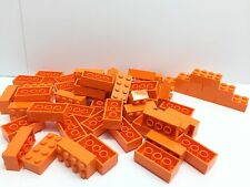 LEGO 3001 - 50 Brand NEW 2x4 Orange Bricks Per Order