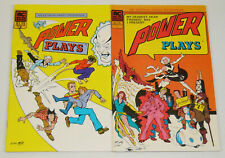 Power Plays vol. 2 #1-2 VF/NM complete series - ac comics - mike kelly 1985 set
