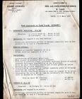 """Concessionnaire AUTOMOBILE CITROEN CAMIONNETTE & CAMION """"CIRCULAIRE N°2641"""" 1939"""