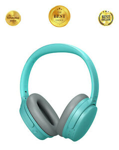 Hi-Fi Bluetooth 6.0 Active Noise Cancelling Wireless Over Ear Headphones w/ Mic