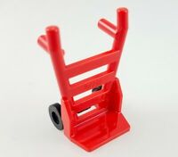 Lego Red Dolly Hand Cart Truck Tool Construction Transport Minifigure Accessory