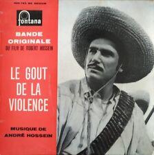 """André Hossein - Le Gout de la Violence BOF - Vinyl 7"""" 45T (Single)"""