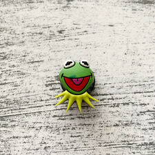 KERMIT THE FROG MUPPETS COLLECTIBLE JIBBITZ SHOE CROC CHARMS - BLEMISH