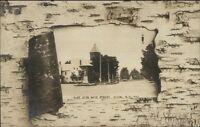 Alton NH East Side of Main St. c1910 Real Photo Postcard