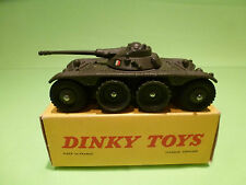DINKY TOYS 80A PANHARD EBR E.B.R. ARMOURED CAR - NEAR MINT IN BOX