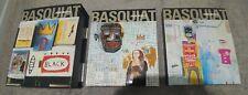 Basquiat - Galerie Enrico Navarra - 2 hardcover books in sleeve 2000 - very good