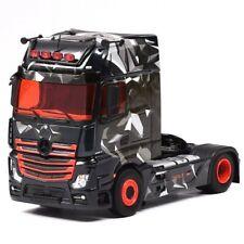 Eligor MERCEDES ACTROS 2 WOLF 1:43 Tracteur - Noir/Rouge (116325)