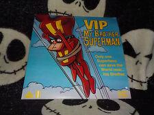 VIP My Brother Superman CAV Laserdisc LD Bruno Bozzetto Free Ship $30 Orders