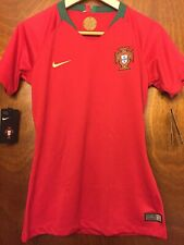 Nike Women's Portugal '18 Stadium Home Soccer Jersey Red Size Small 893954-687