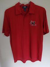 Vintage Hickory Crawdads Minor League Baseball Golf Polo Shirt Stitched Logo Med
