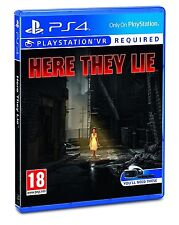 Here They Lie VR Sony PlayStation 4 Ps4