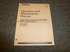 heavy equipment manuals books for caterpillar skid steer loader rh ebay com cat 277 parts manual Cat 277 Pump