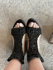 trippen sandals size 37