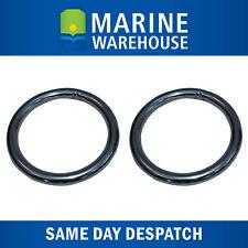 "2X Stainless Steel Anchor Retrieval Ring 8mm 5/16"" Steel - 51mm Diameter 107044"