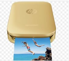HP - Sprocket Portable Photo Printer Gold