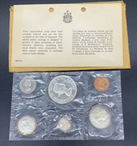 1964 Canada 6 Coin Proof-Like Set - Royal Canadian Mint - 80% Silver