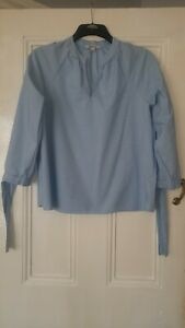 Lovely Ladies Madewell 100% Cotton Stripe Top Size M