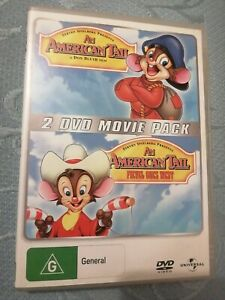 An American Tail/ An American Tail Fievel Goes West Dvd