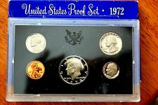 1972 & 1973 US Mint Proof Sets / Excellent Coins at an excellent price !