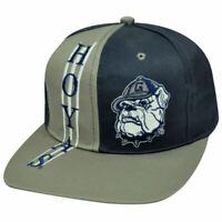 NCAA Georgetown Hoyas Vintage Snapback Old School Flat Bill Hat Cap