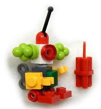NEW LEGO CLOWN ROBOT MINIFIG from Jokerland 76035 figure minifigure toy dc