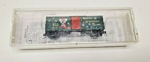 Micro Trains Z Scale 2008 Christmas Box Car #503 00 050 MINT