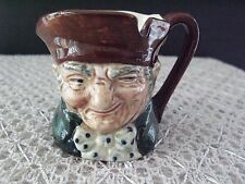 """Antique Royal Doulton England Porcelain Mini Toby """"Old Charley"""" Rd No 787515"""