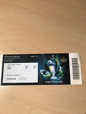 Champions League Final Bayern München FC Chelsea Eintrittskarte Ticket Endspiel