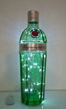 Elegant upcyled Tanqueray No Ten Bottle Light Filled with 40 White Leds