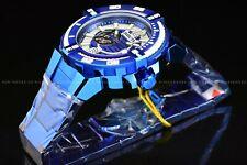 Invicta Men 53mm Bolt Brilliant Blue Bracelet Automatic Open Heart NH38A Watch