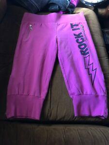 Abbey Dawn Pink Yoga Pants/capris