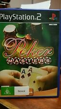 Poker Masters PS2 (NO BOOKLET) ♥♥♥FREE POST