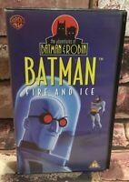 The Adventures Of Batman And Robin -  Batman: Fire And Ice VHS Video Tape TBLO