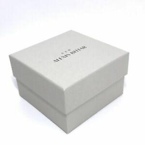 """ALEXIS BITTAR Empty Jewerly Box  4""""x4""""x2.5""""NEW"""